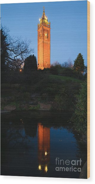 Cabot Tower, Bristol Wood Print