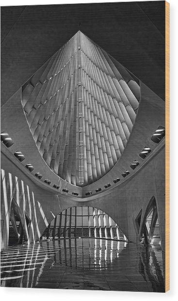 Calatrava 4 Wood Print