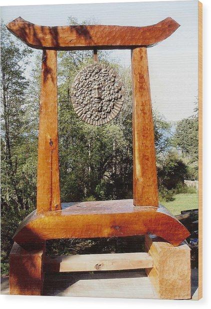 Calekus Portal Wood Print by Eric Singleton