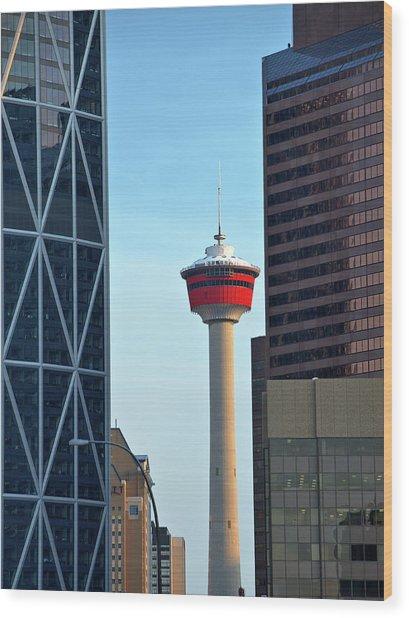 Calgary 1 Wood Print