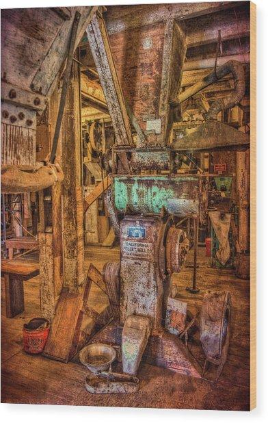 California Pellet Mill Co Wood Print