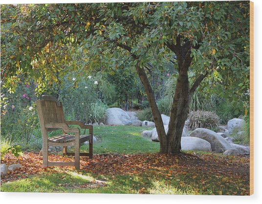 California Autumn Wood Print