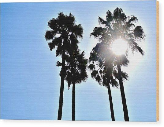California Wood Print