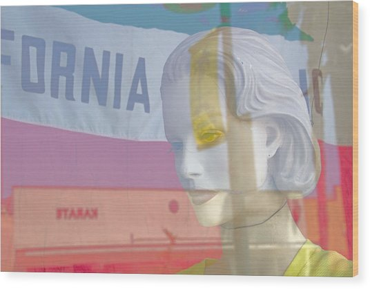 California Dreamer Wood Print