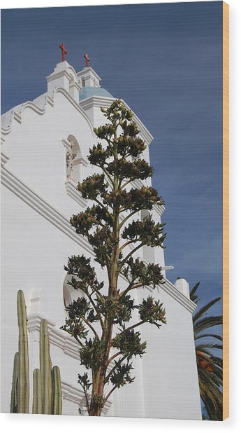 California History Wood Print by Jean Booth