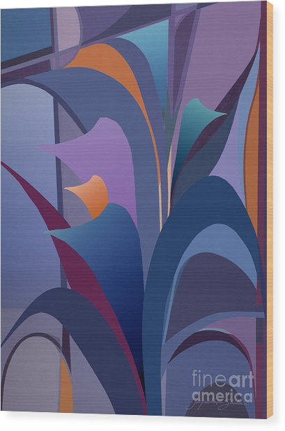 Calla Collection Wood Print