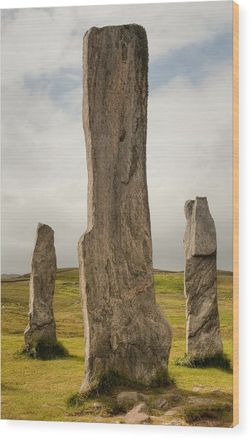 Callanish Standing Stones Wood Print