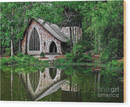Callaway Gardens Ida Cason Chapel Wood Print