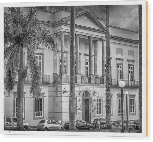 Camara Municipal De Vassouras-rj Wood Print
