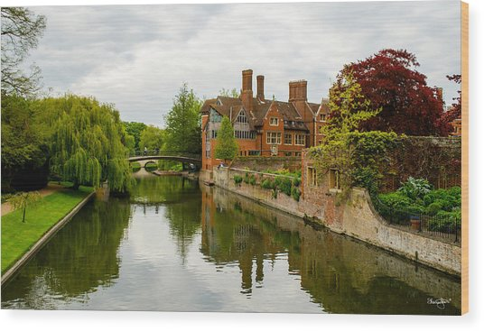 Cambridge Serenity Wood Print