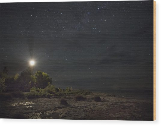 Cana At Night Wood Print