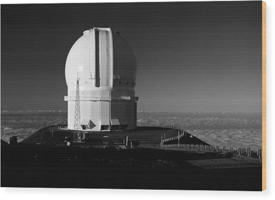 Canada France Hawaii Telescope 1 Wood Print