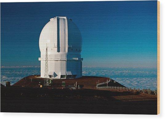 Canada France Hawaii Telescope 2 Wood Print