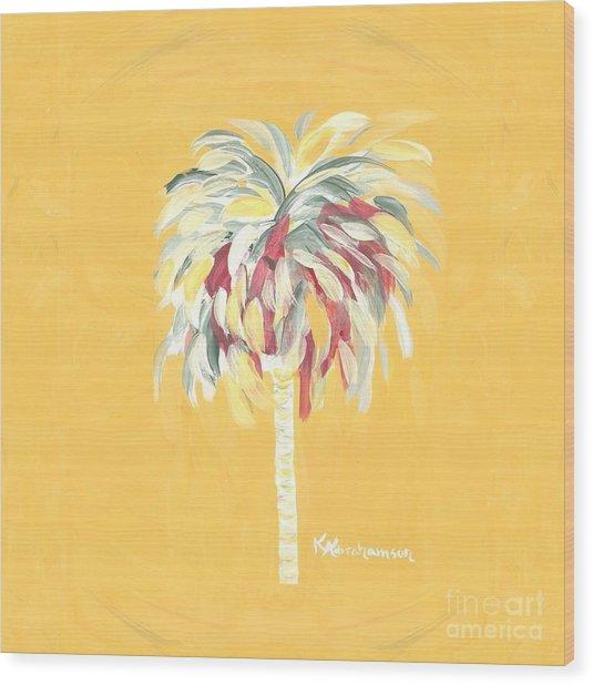 Canary Palm Tree Wood Print