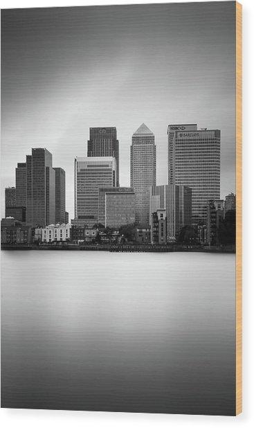 Canary Wharf II, London Wood Print