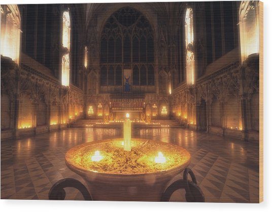 Candlemas - Lady Chapel Wood Print