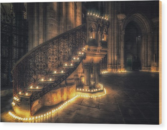 Candlemas - Pulpit Wood Print