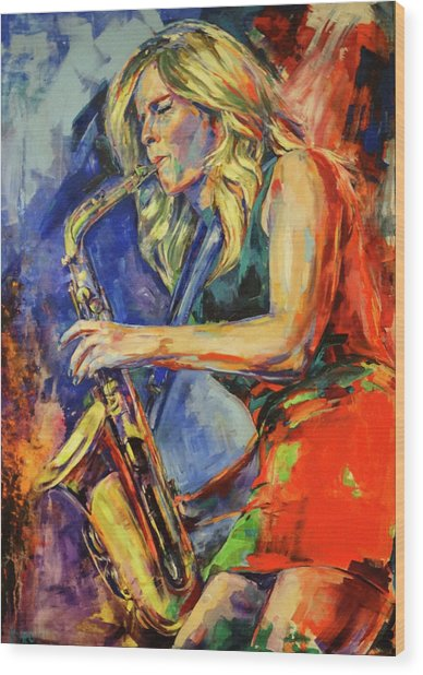 Candy Dulfer, Lily Was Here Wood Print