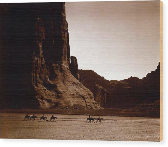 Canyon De Chelly 2c Navajo Wood Print