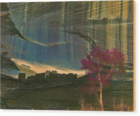 Canyon De Chelly Arizona Wood Print by Jen White