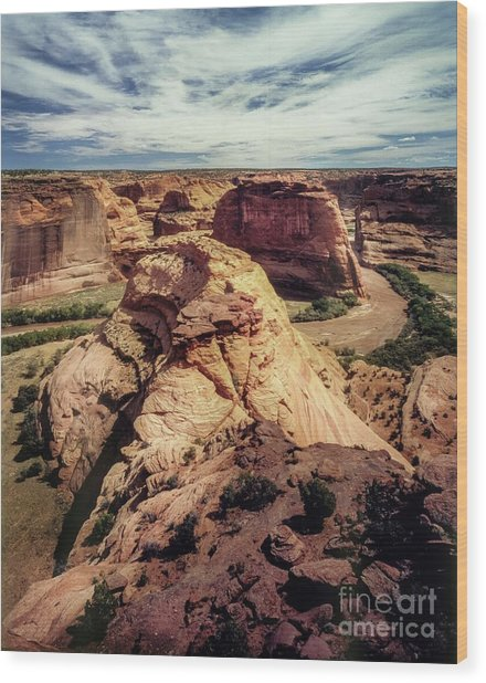 90146 Canyon De Chelly Wood Print