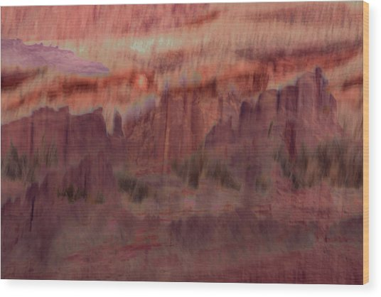 Canyon Dreaming Wood Print