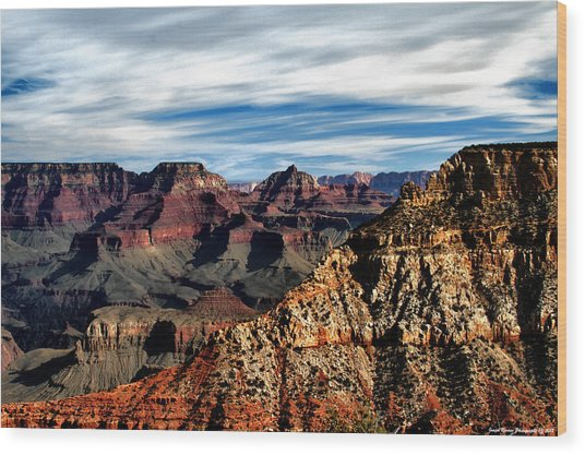 Canyon Grandeur Wood Print