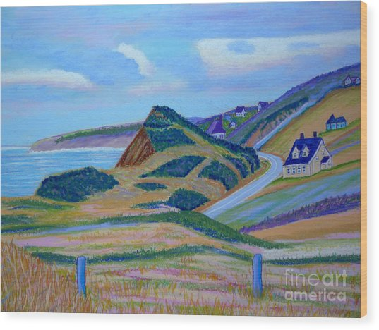 Cape Brenton Highlands Wood Print