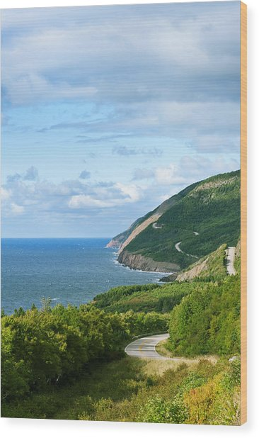 Cape Breton Highlands National Park Wood Print