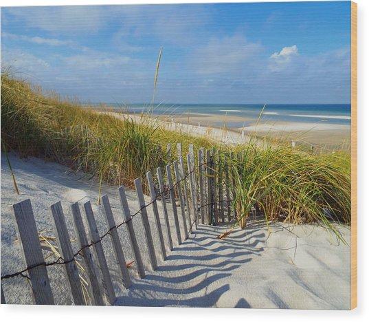 Cape Cod Charm Wood Print