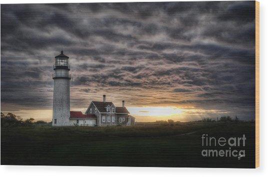 Cape Cod Lighthouse Wood Print