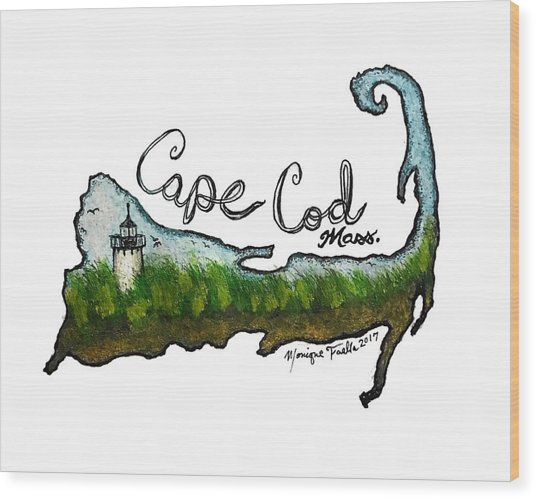 Cape Cod, Mass. Wood Print