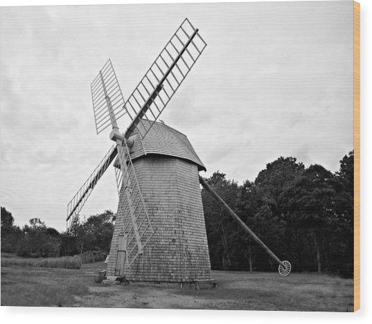 Cape Cod - Old Higgins Farm Windmill Wood Print