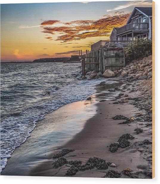 Cape Cod September Wood Print