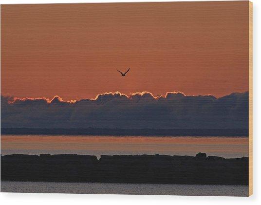 Cape Cod Sunrise #2 Wood Print