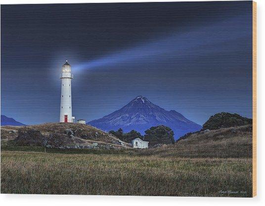 Cape Egmont Wood Print