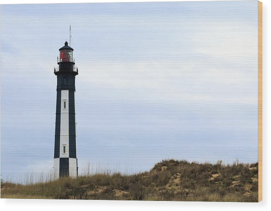 Cape Henry Lighthouse Wood Print
