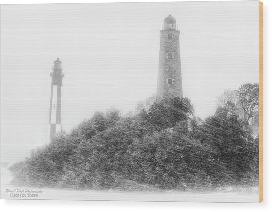 Cape Heny Wood Print
