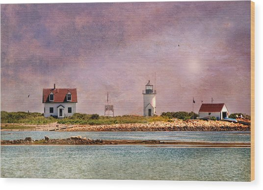 Cape Porpoise Lighthouse Wood Print
