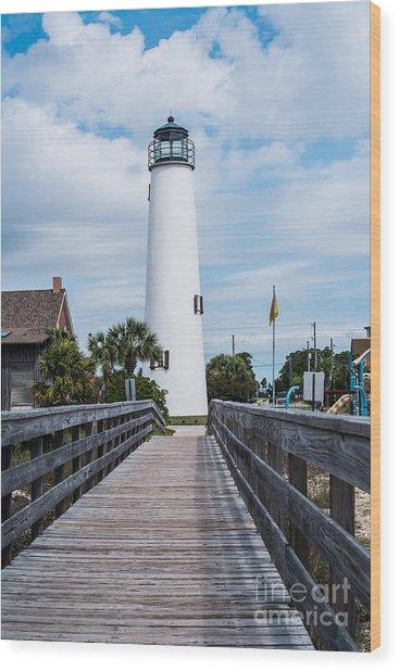 Cape St. George Lighthouse Wood Print