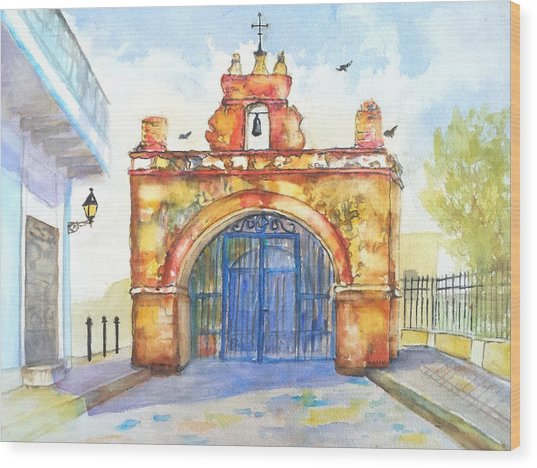 Capilla Del Cristo Puerto Rico Wood Print