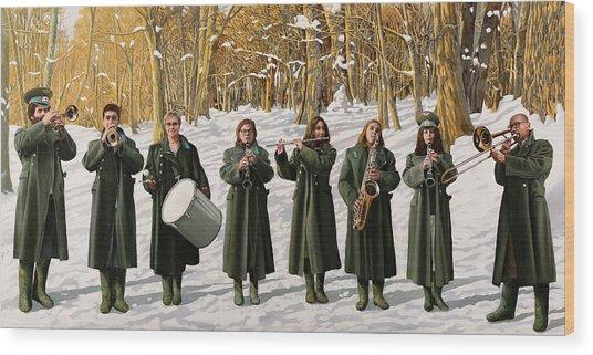 Banda Gabetti-cappotto Per Otto Wood Print