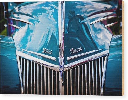 Car No.8 Wood Print