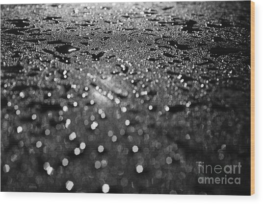 Car Window Wood Print by Tassos Pasalis