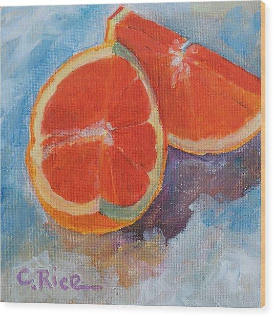 Cara Cara Orange Wood Print