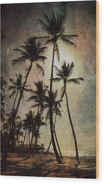 Caraibi Mood Wood Print