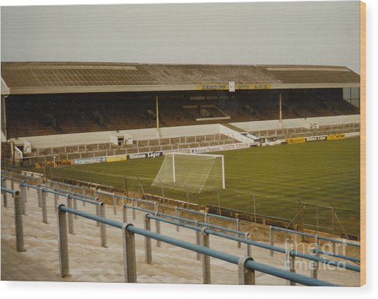 Cardiff - Ninian Park - West Stand 2 - 1969 Wood Print