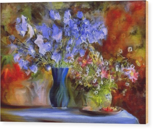 Caress Of Spring - Impressionism Wood Print