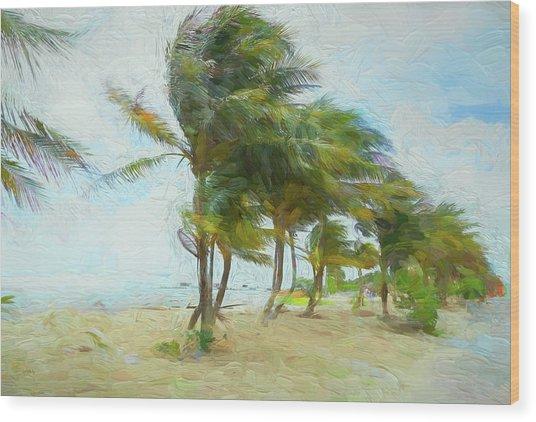 Caribbean Getaway Wood Print