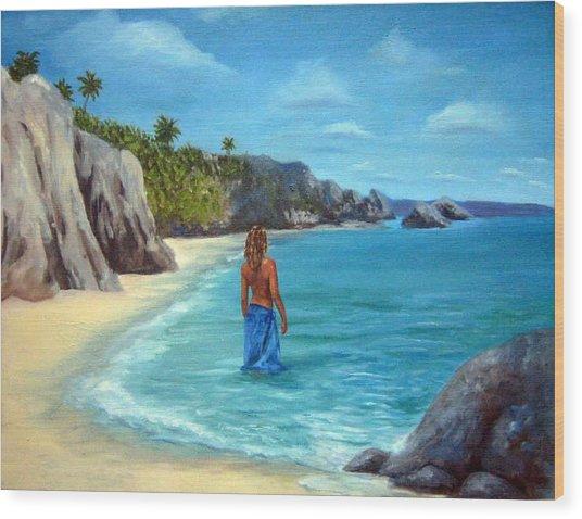 Caribean Dreaming Wood Print